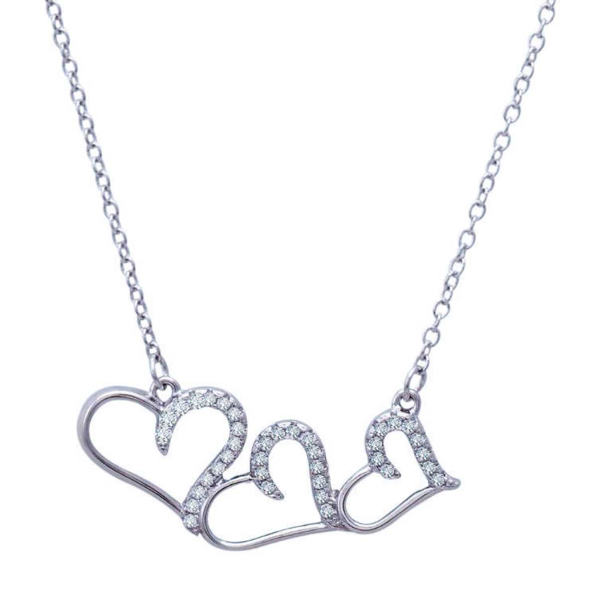 Triple Heart Fancy  Chain