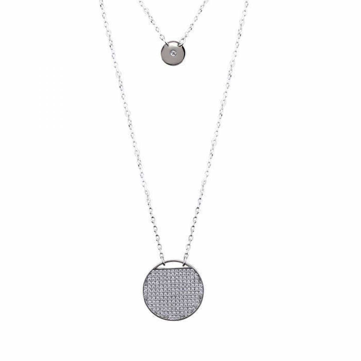 Big & Small Circle Diamond Chain