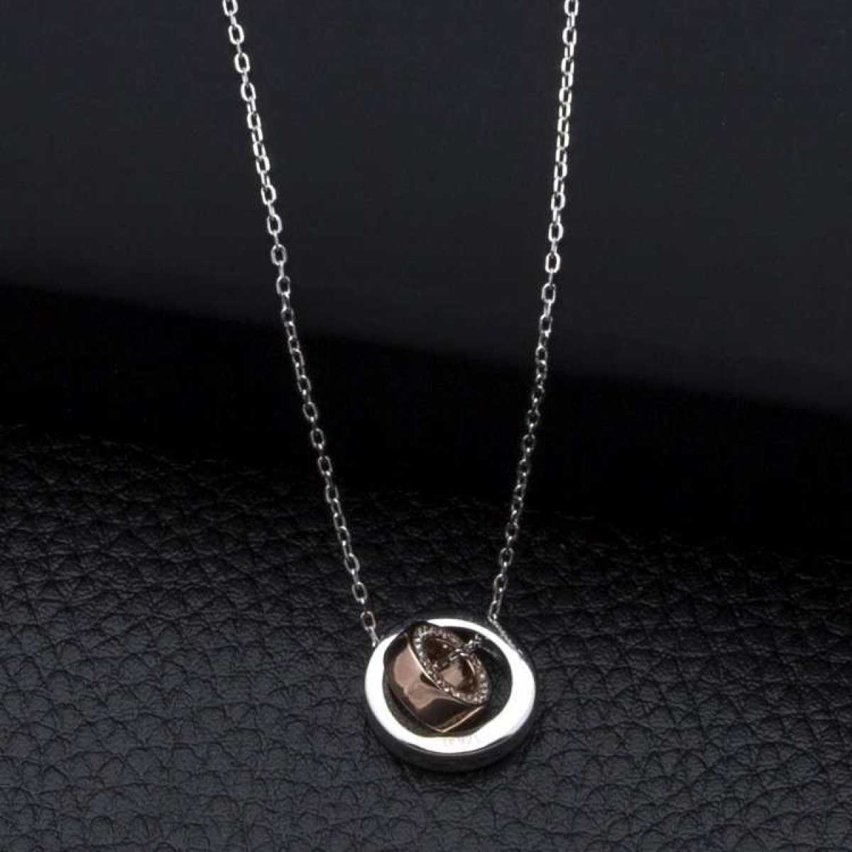 Pendent With Chain In Sterling Silver  Chain
