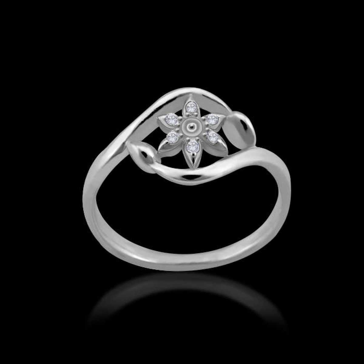 Sterling Silver Delicate Silver Ring