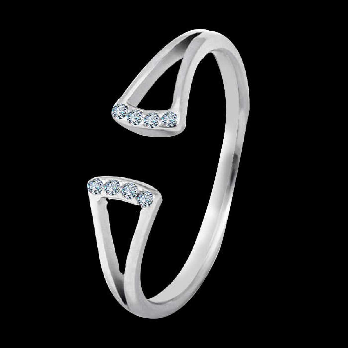 Freestyle sterling silver ring