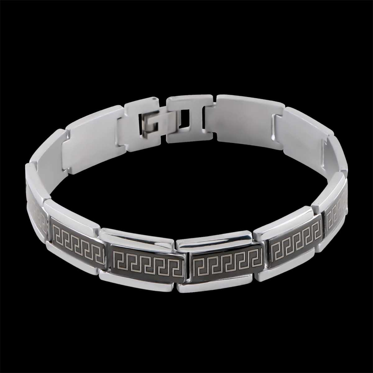 black polish Designer Bracelet for men Jewellery