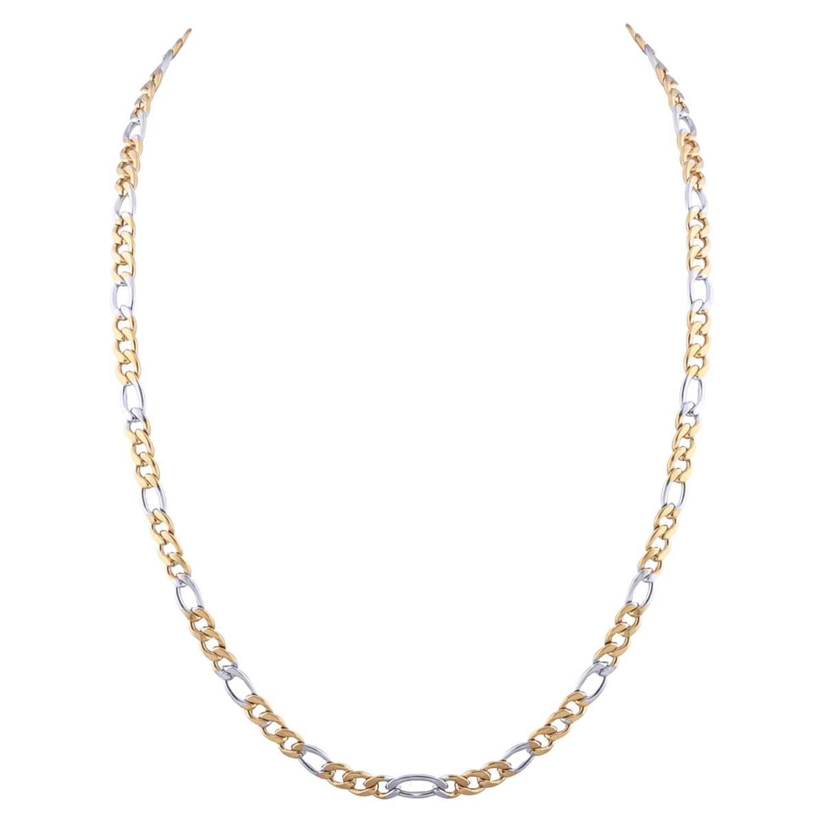 SilverPlated Exclusive Figaro Chain For Men and boy Jewellery