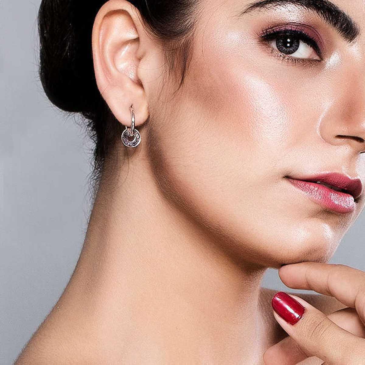 New Bali Shape Silver Earring