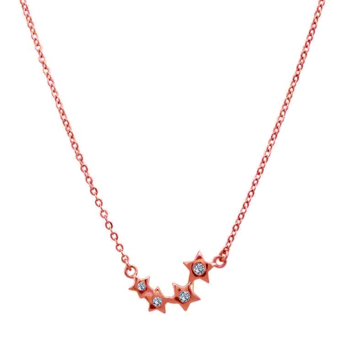 Cute 4 Rose Star  Chain