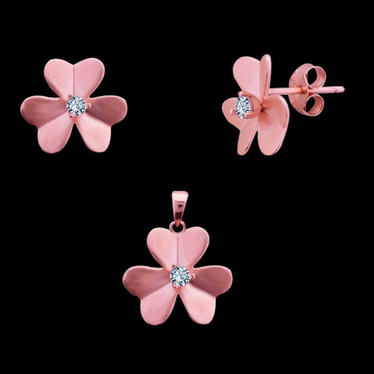Nice Flower Pendant Set