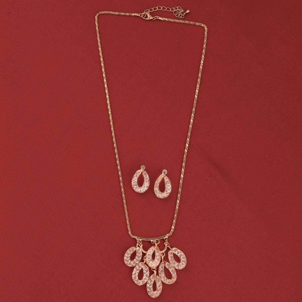 SILVER SHINE Charm Party Wear Different Designe Pendant Set For Women Girl