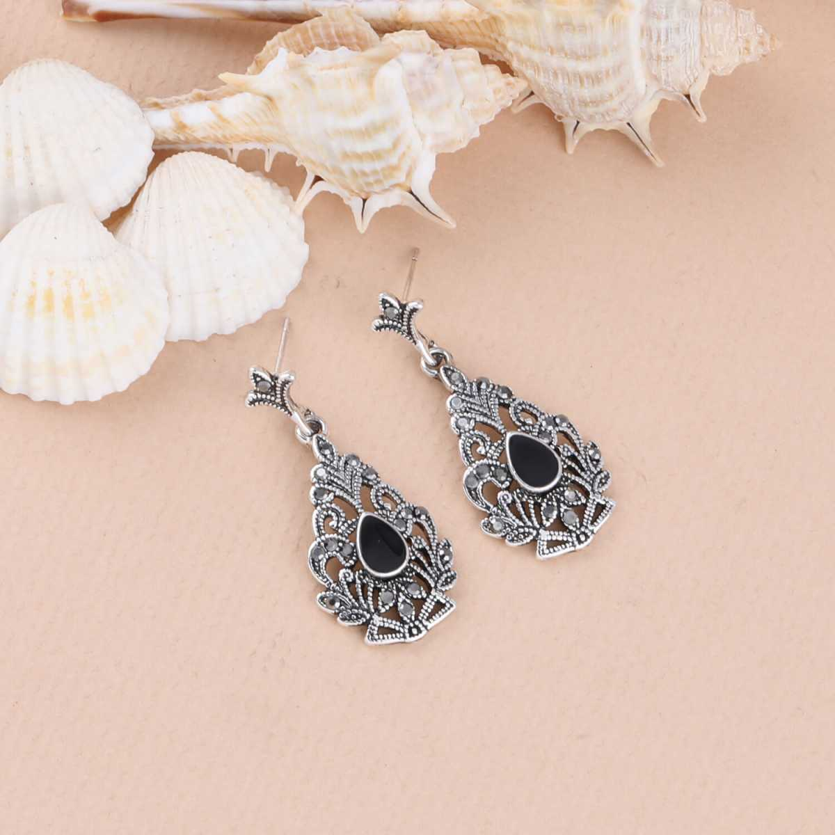SILVER SHINE Party Wear Attarctive Dangle Earring For Women Girl