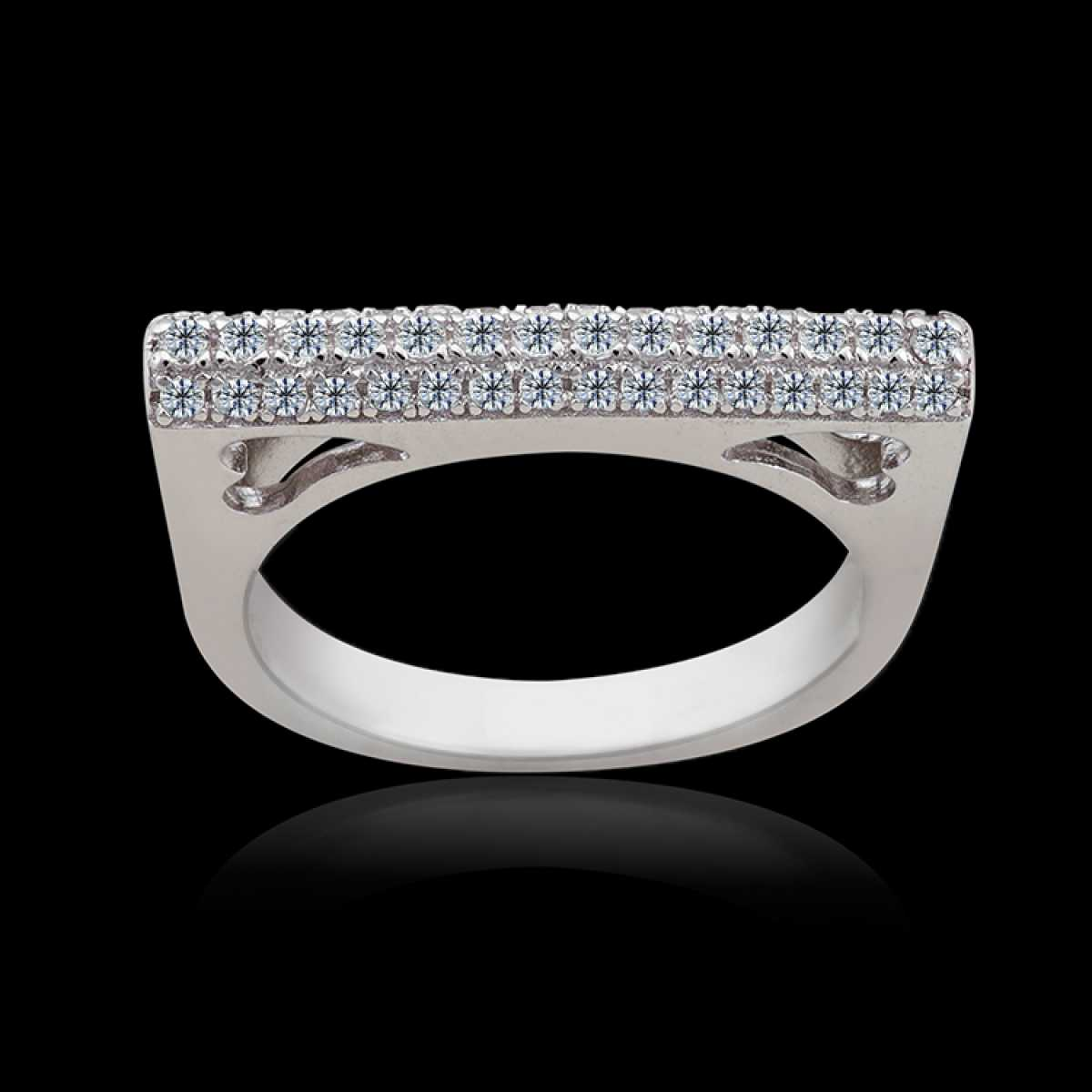 Unique And Stylish Silver Ring