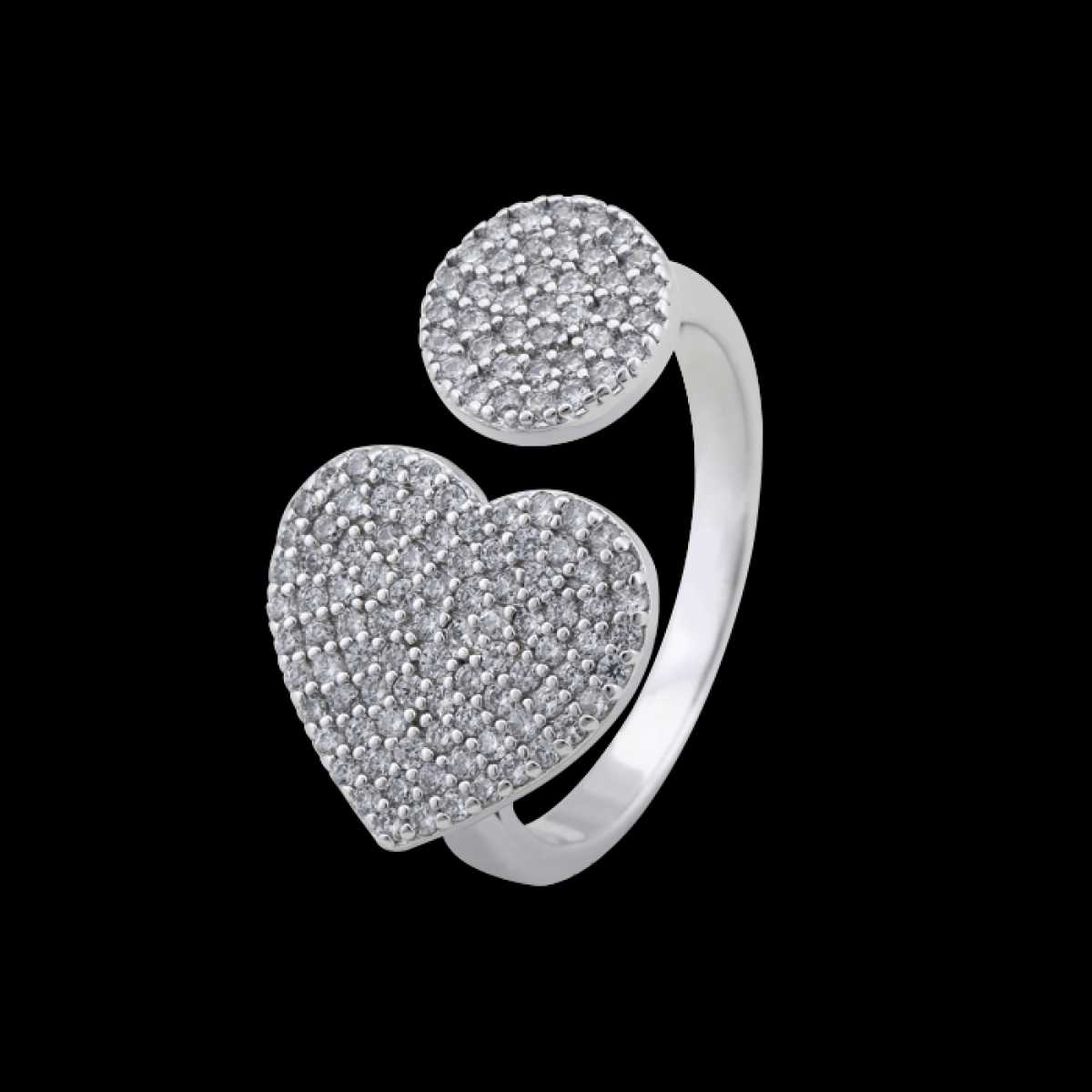 New Heart Cocktail Ring