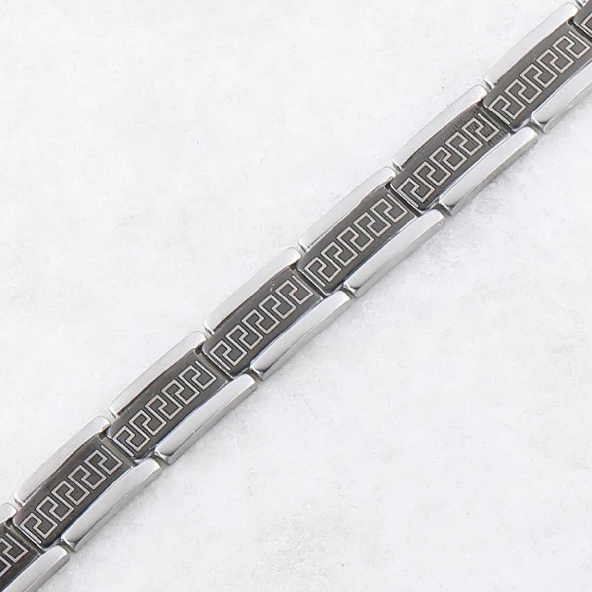 black polish Designer Bracelet for men Jewellery