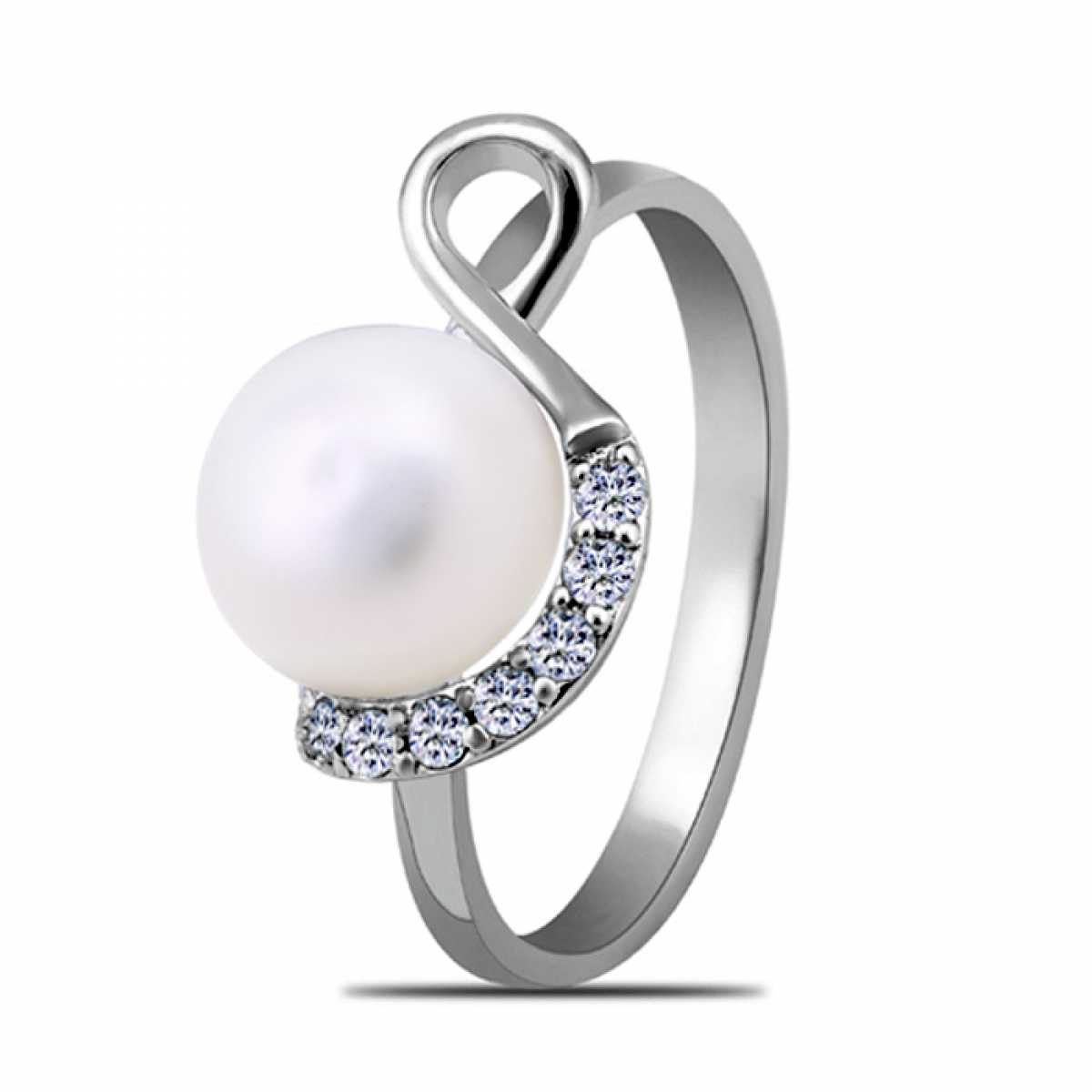 Cocktail Pearl Ring For Women