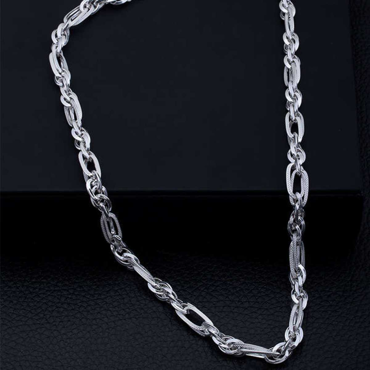Trendy New Design Silver Chain for Men