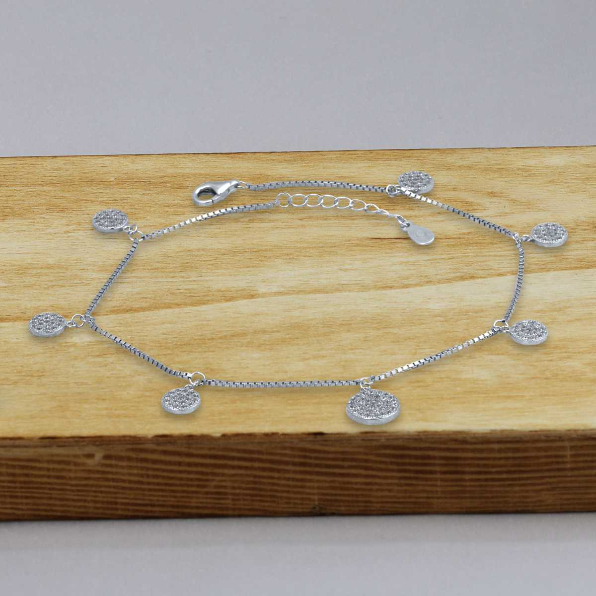 Round Dangle Anklet
