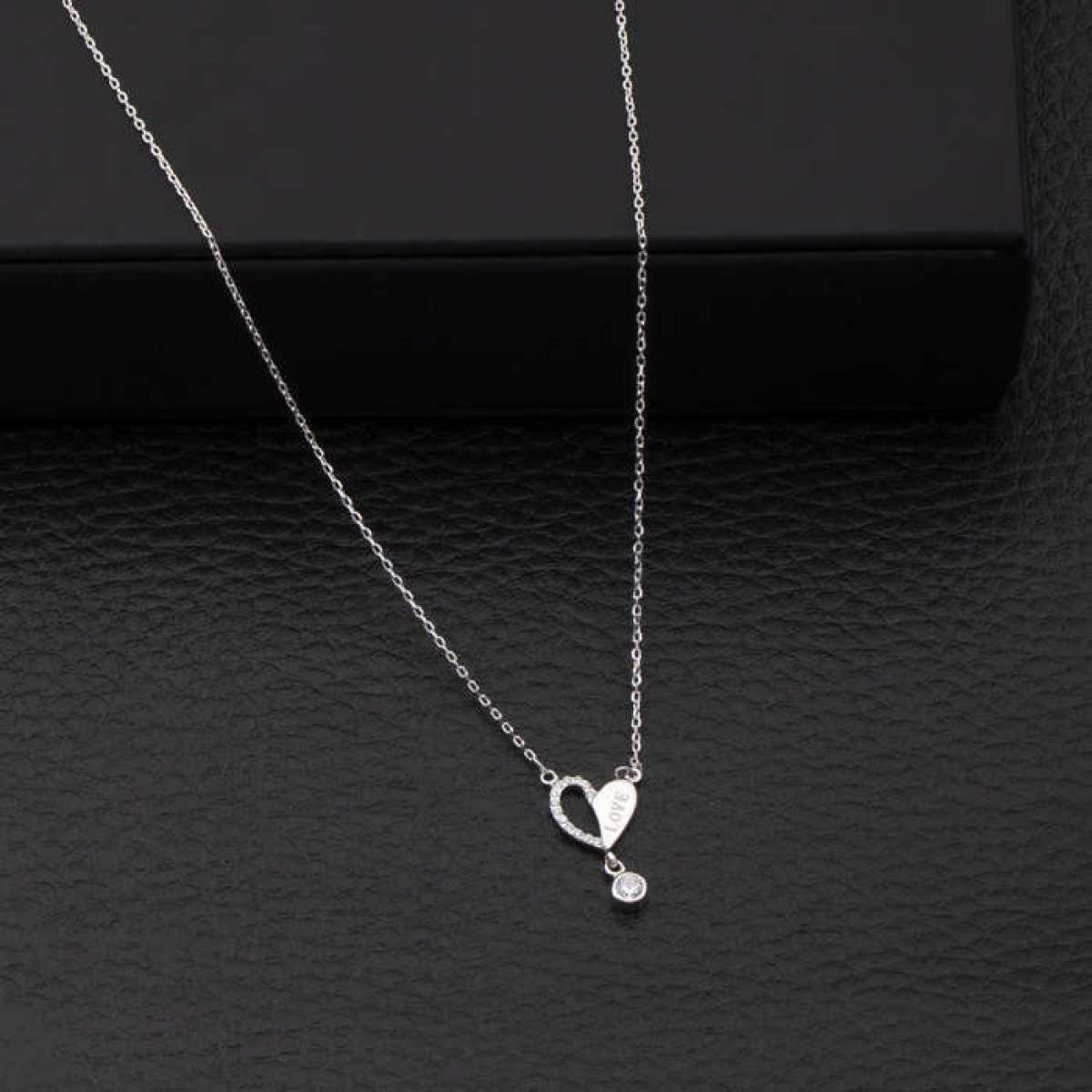 Love Heart Diamond Chain