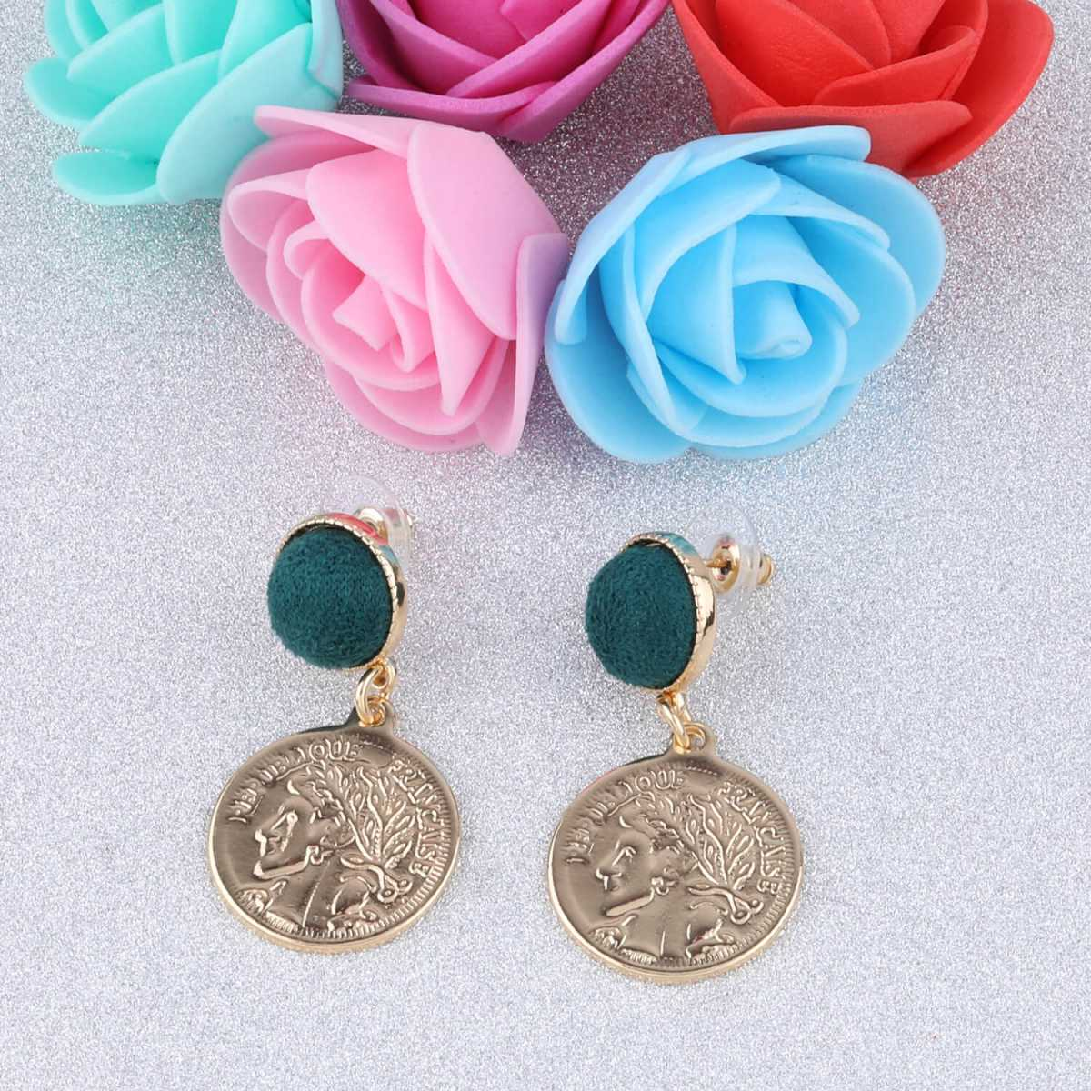 SILVER SHINE Gold Plated Stylish Fancy Look Dangle Earring For Women Girl