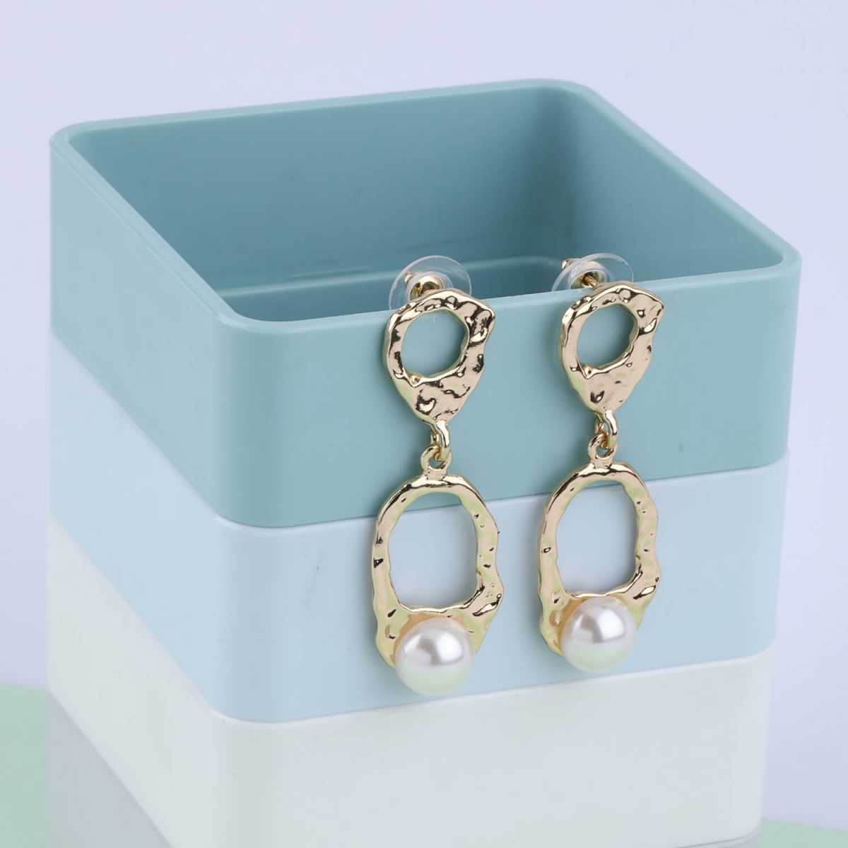 SILVER SHINE Party Wear Stylish Charm Dangle Earring For Women Girl