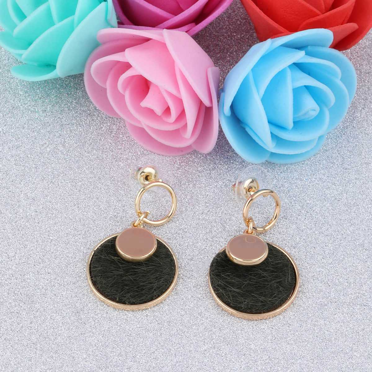 SILVER SHINE Designer Stylish Party Wear Droop Earring For Women Girl