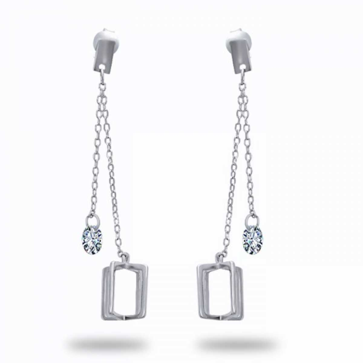 New Desine Silver Earring
