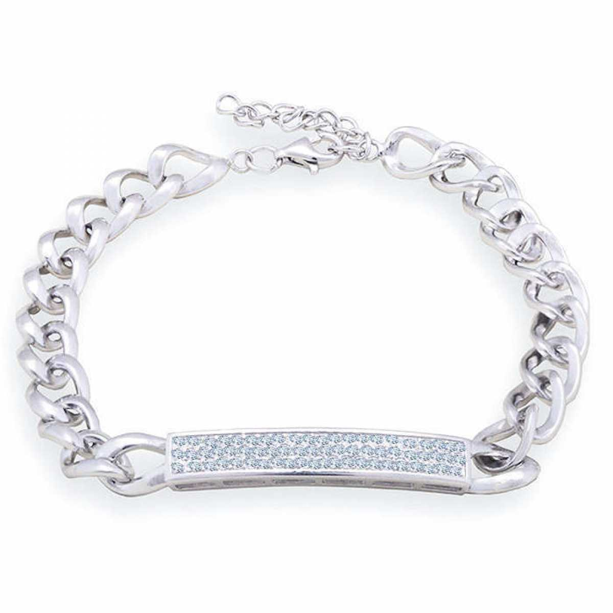 Beautiful Solid  Silver Bracelet
