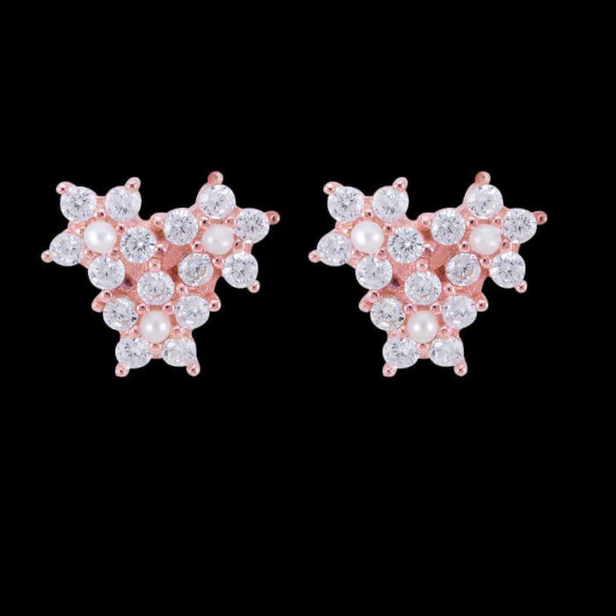 Three Star New Look Earring