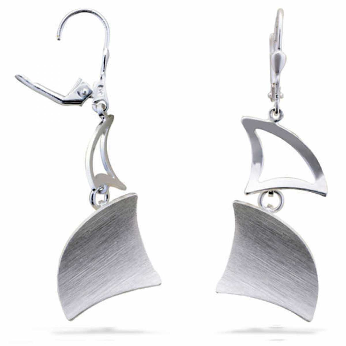Sterling Silver Hanging Earring