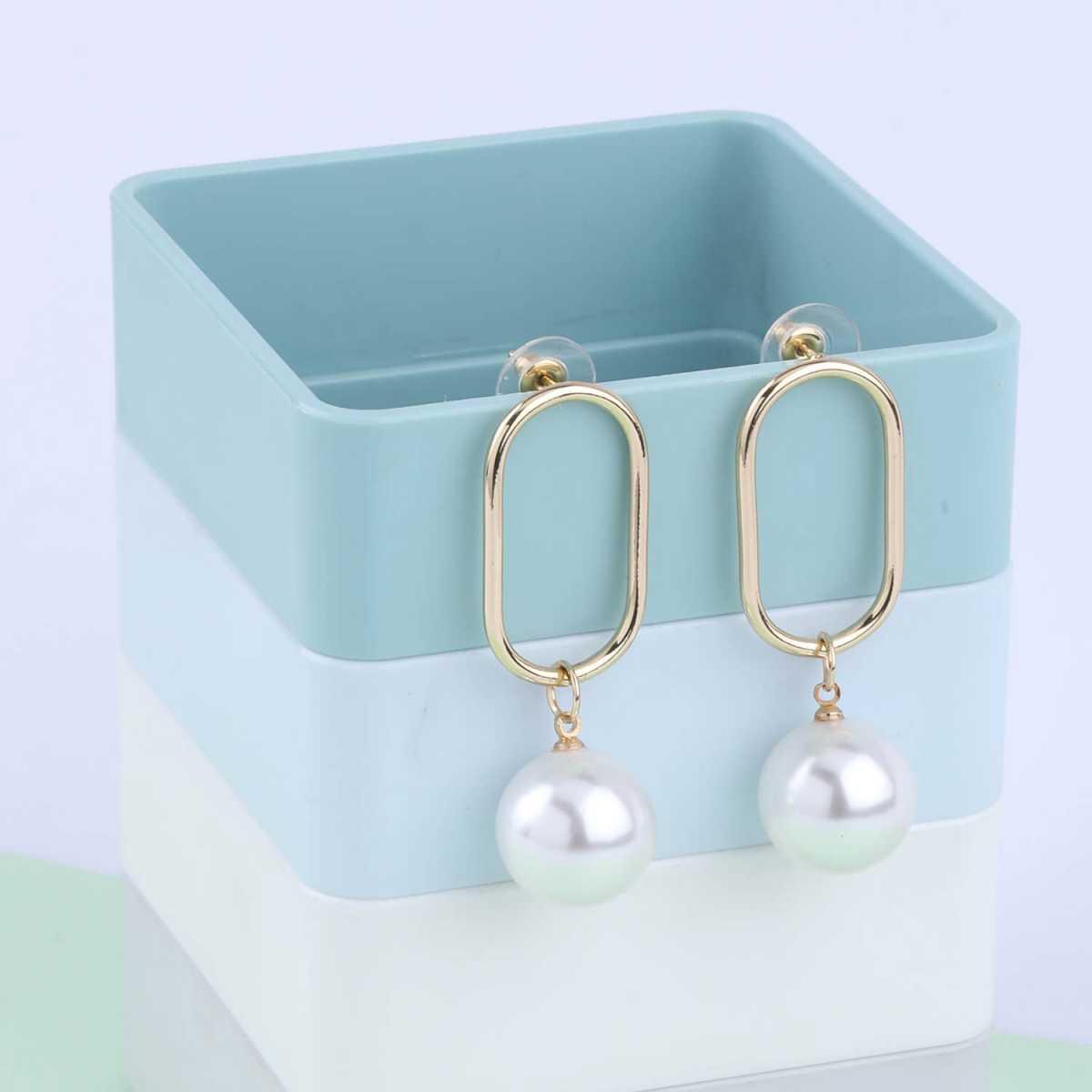 SILVER SHINE Party Wear Delicate  Dangle Earring For Women Girl