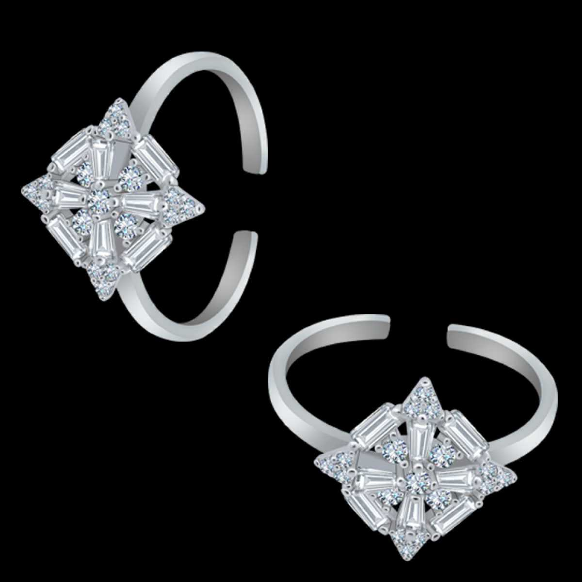 Squire Diamond Toe Ring