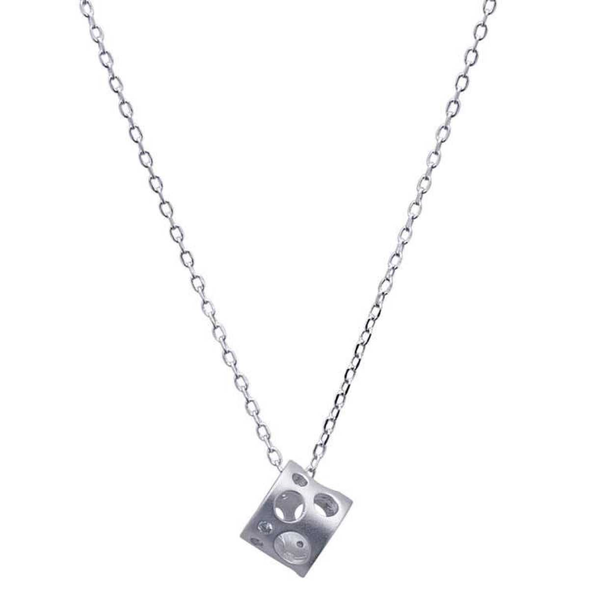 Short Locket Sterling Silver  Chain