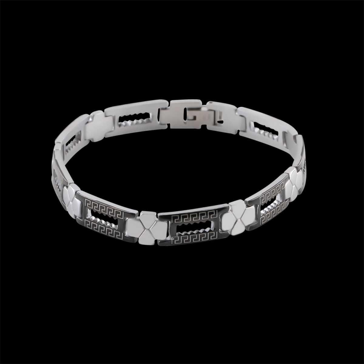 Elegant Blackpolish Designer Bracelet for men Jewellery