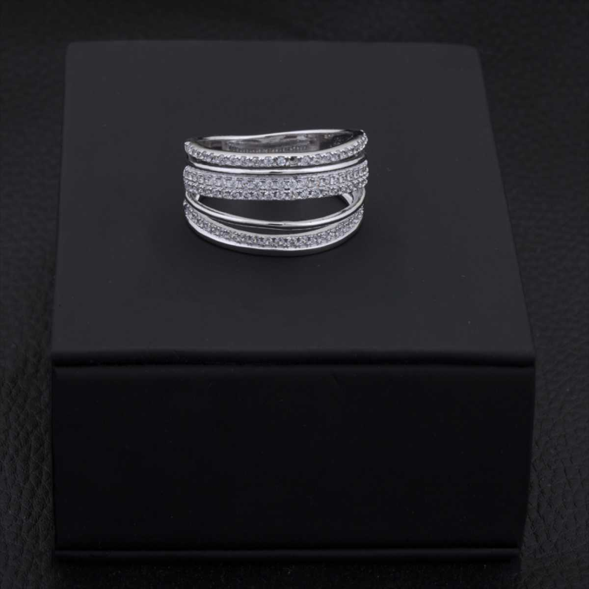 Shine With Silver Cocktail Ring
