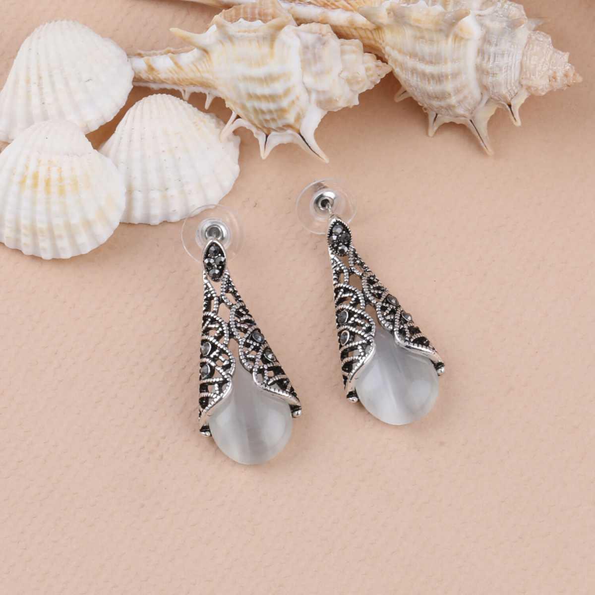 SILVER SHINE Party Wear antique look  Dangle Earring For Women Girl