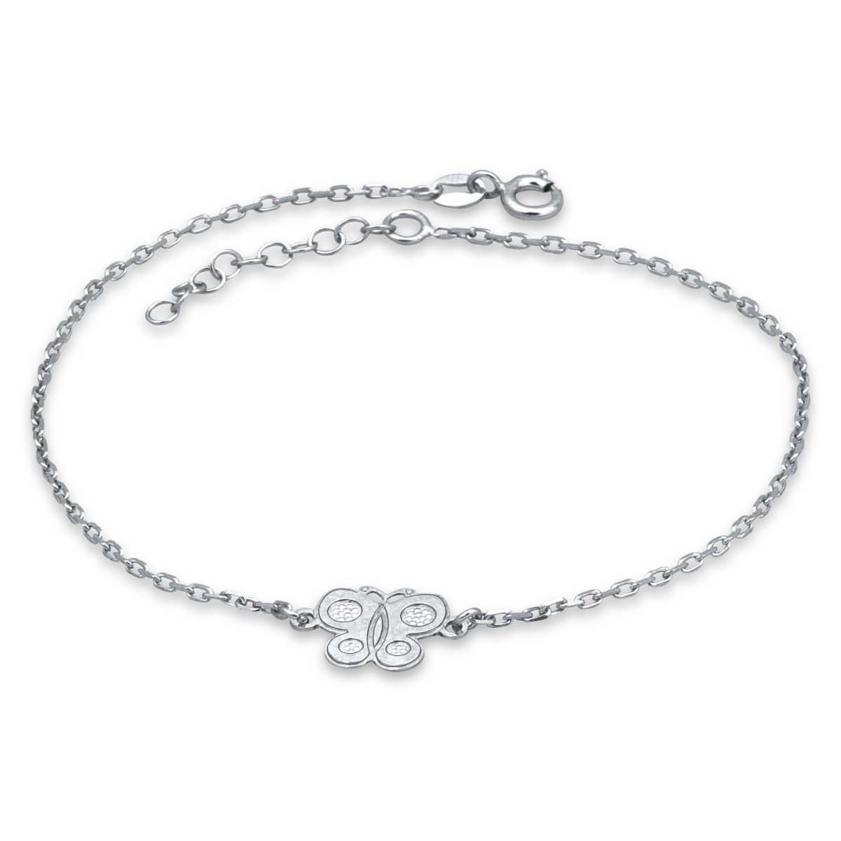 Bubbly Butterfly Anklet