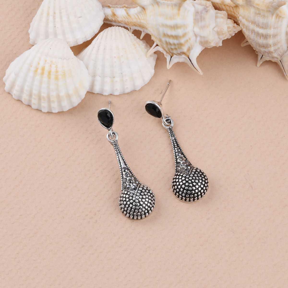 SILVER SHINE Party Wear Stylish Charm look  Dangle Earring For Women Girl