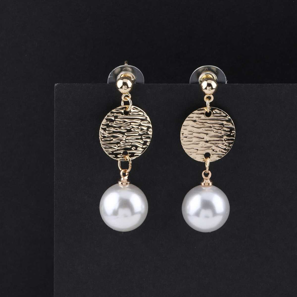 SILVER SHINE Party Wear Stylish  Dangle Earring For Women Girl