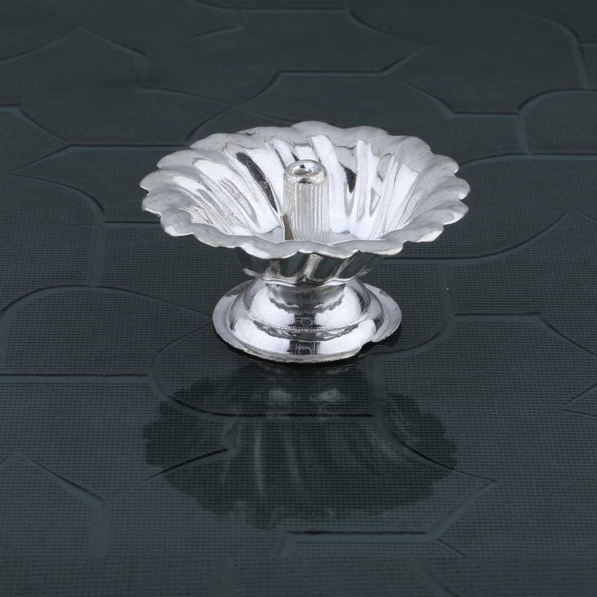 Silver Shine Silver Plated Designer Agarbatti Holder