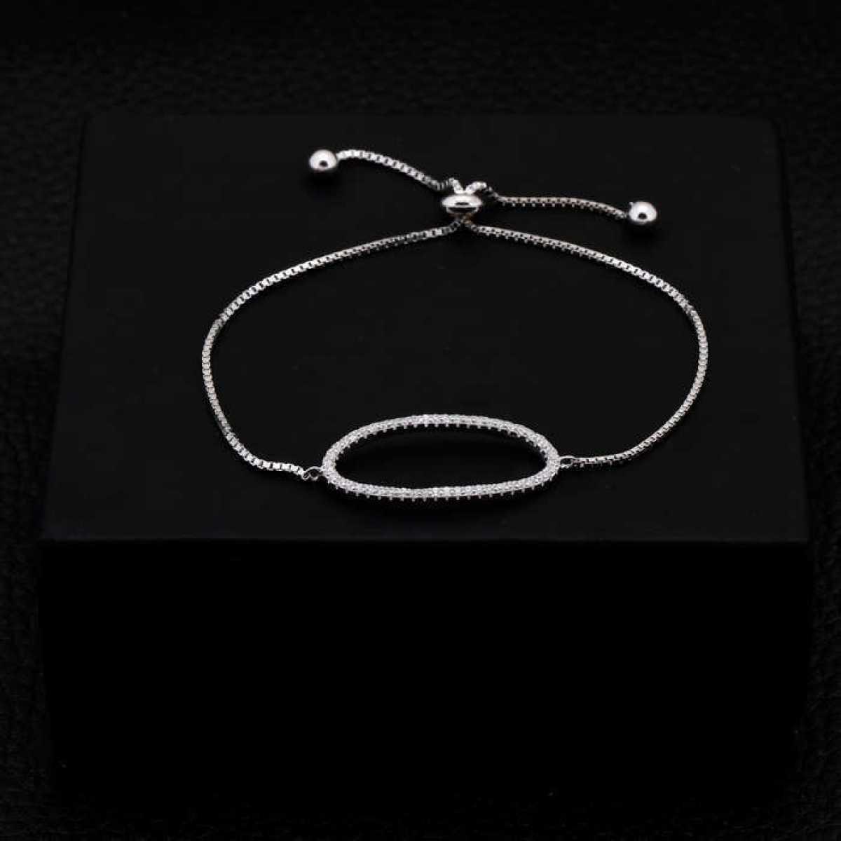 Crystal Round Bracelet