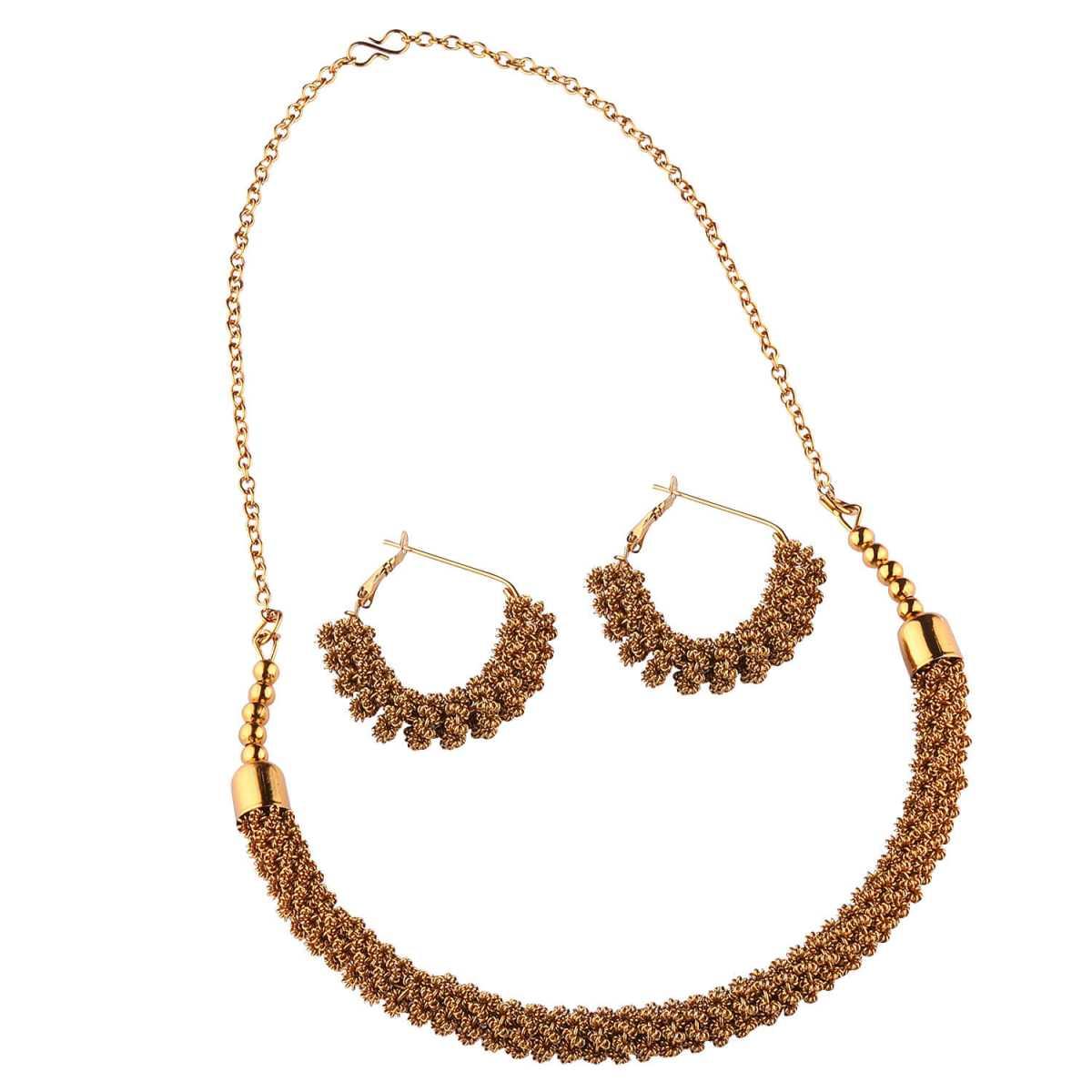 GoldPlated Designer Necklace Set for women Jewellery Set