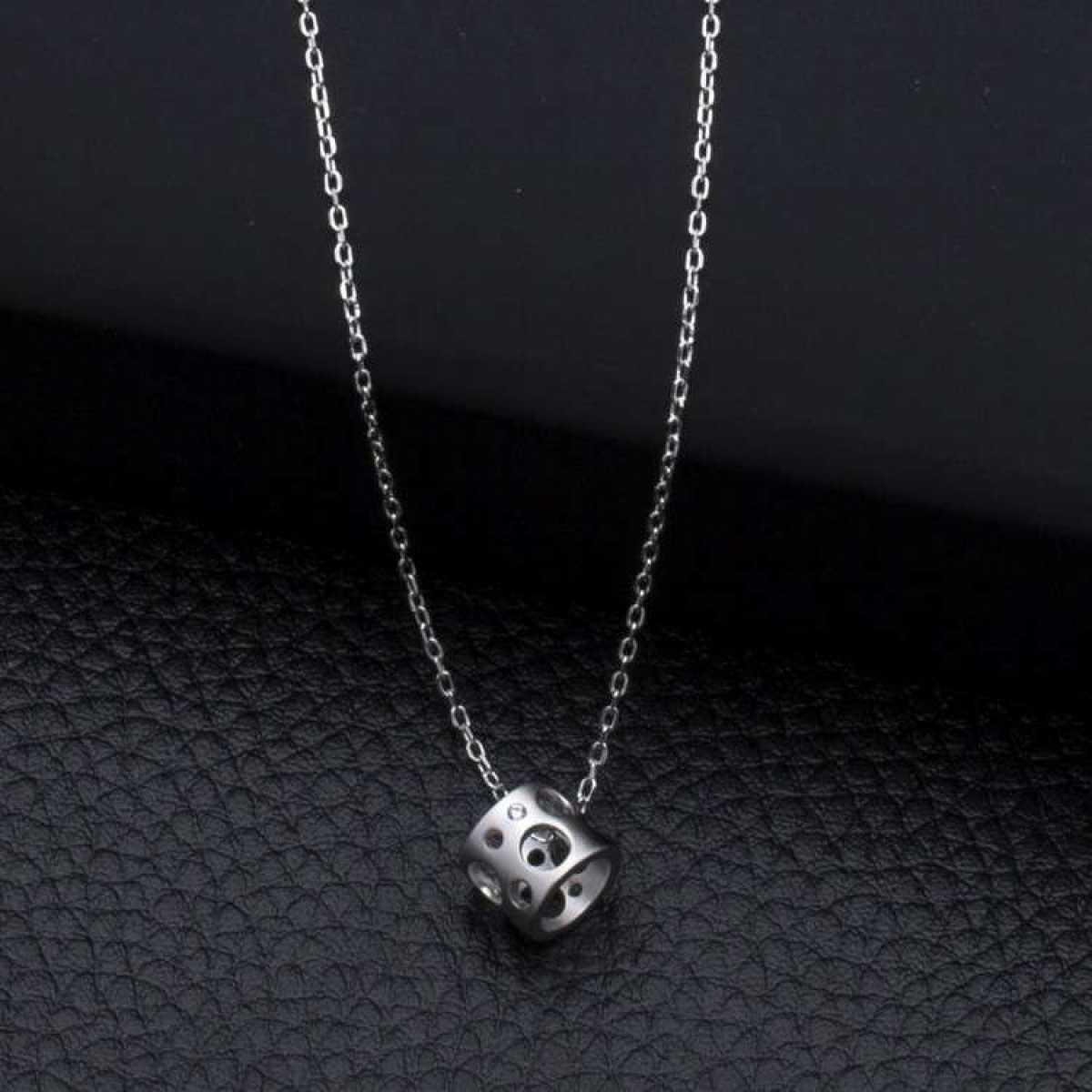 Short Locket Sterling Silver  Chain