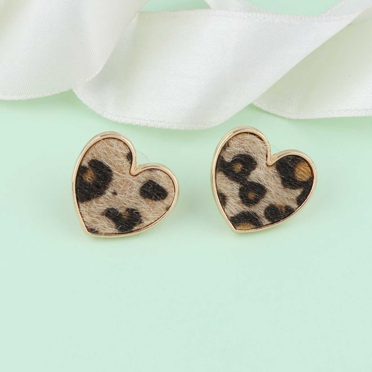 SILVER SHINE Antique Gold Plated Fancy Party Wear Stud Earring For Women Girl