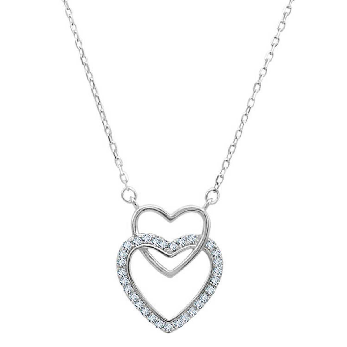 Big & Small Heart  Chain