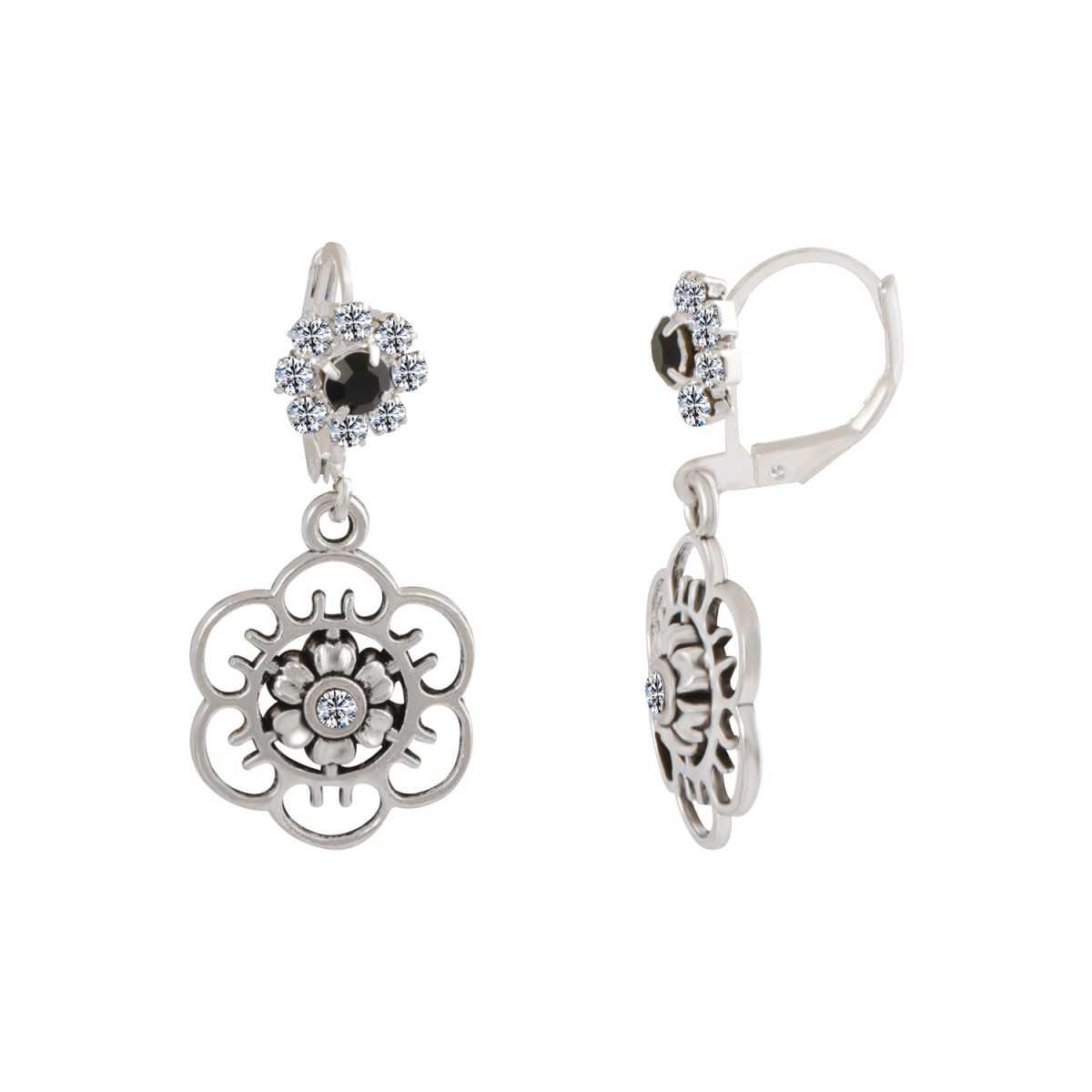 silver shine Glitzy Flower Bali