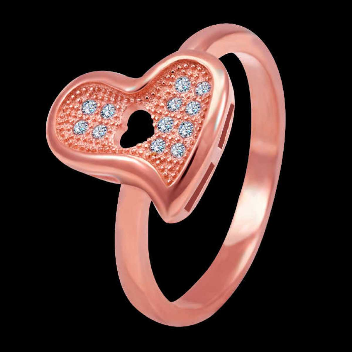 Sweet Heart love sterling silver ring