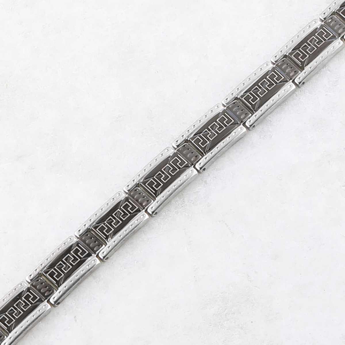 Adorable black polish slim style Designer Bracelet for men Jewellery
