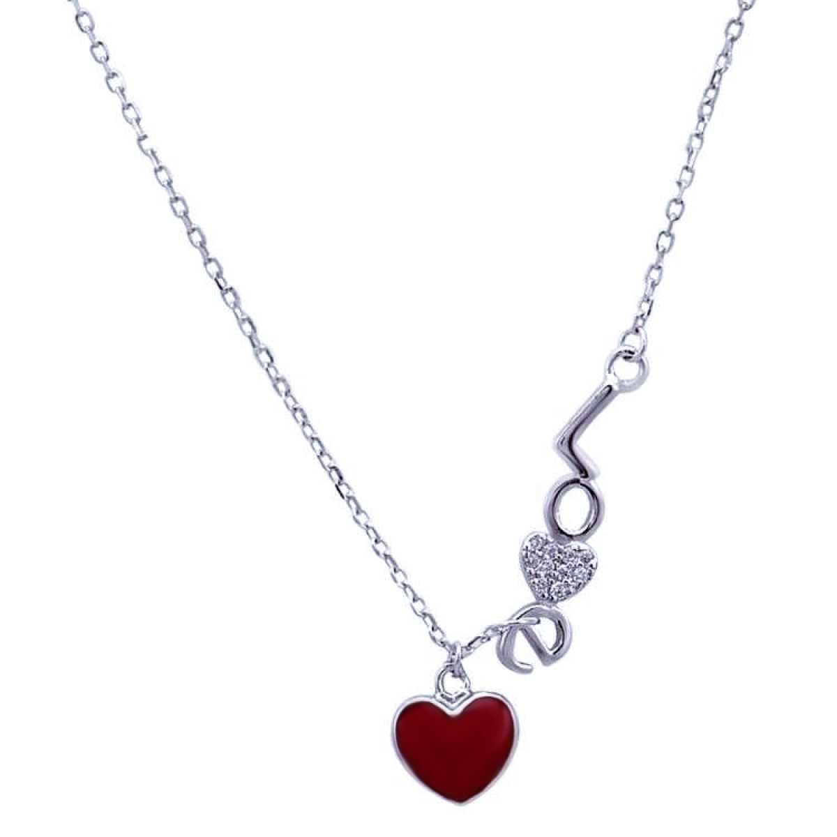 Love Red Heart  Chain