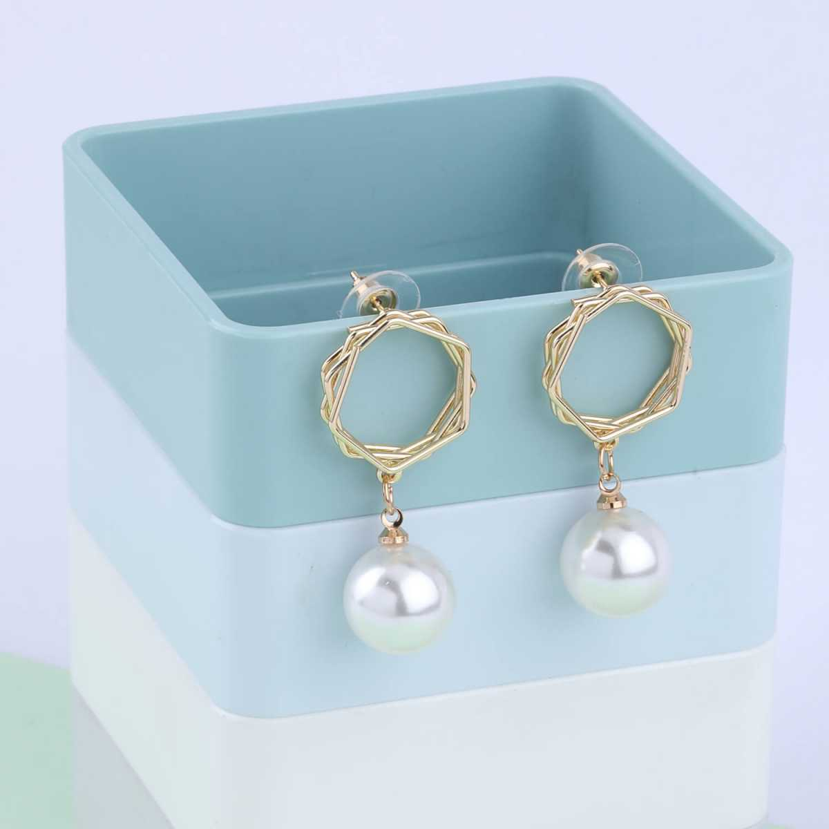 SILVER SHINE Party Wear Delicate  Dangle Earring For Women Girl