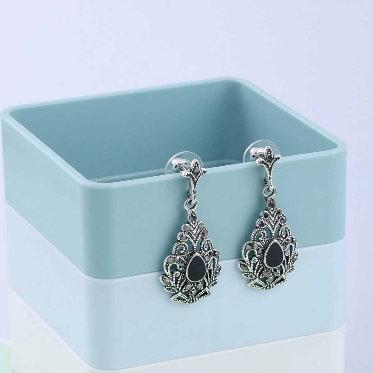 SILVER SHINE Party Wear Attarctive Dangle Earring For Women Girl