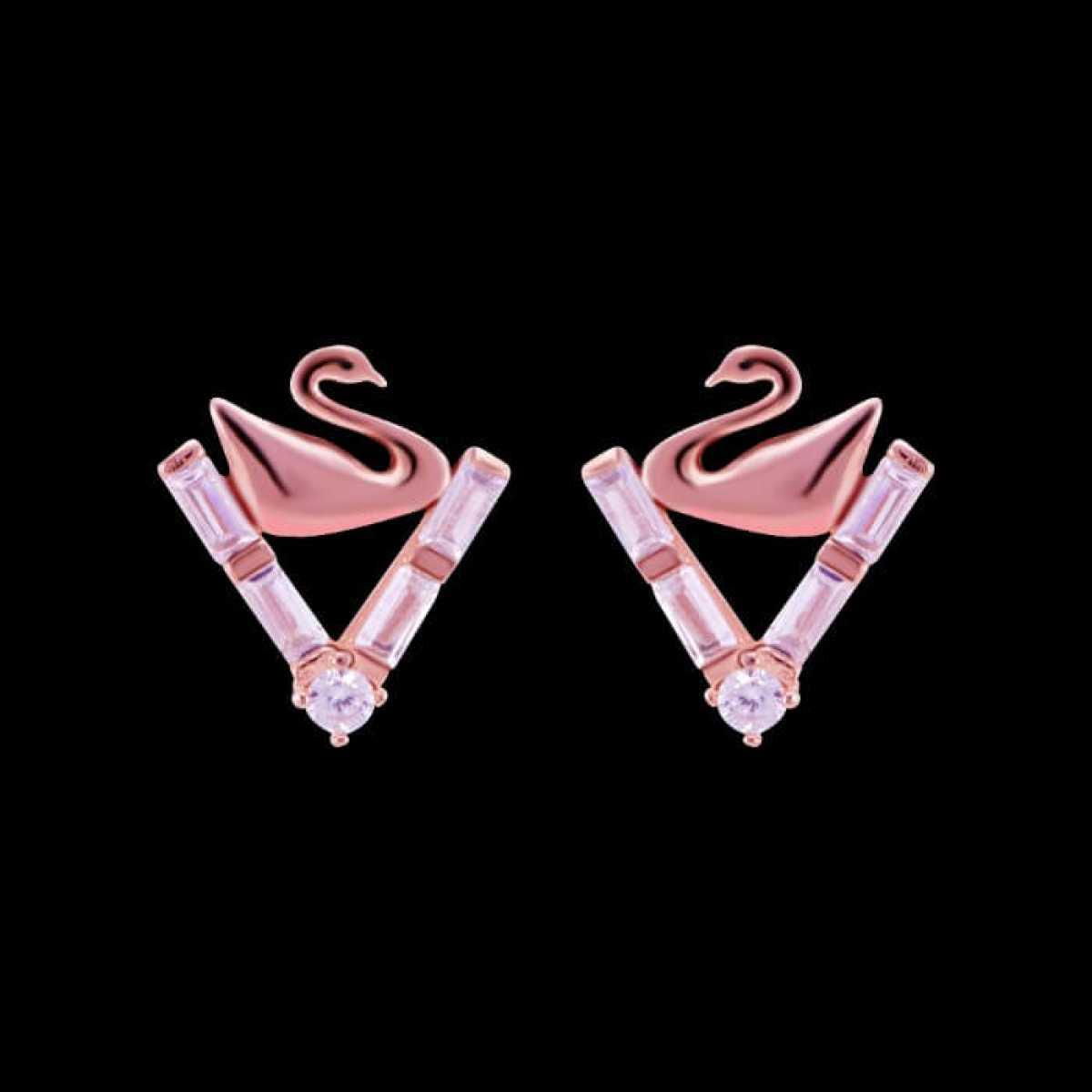 Triangle Duck  Earring