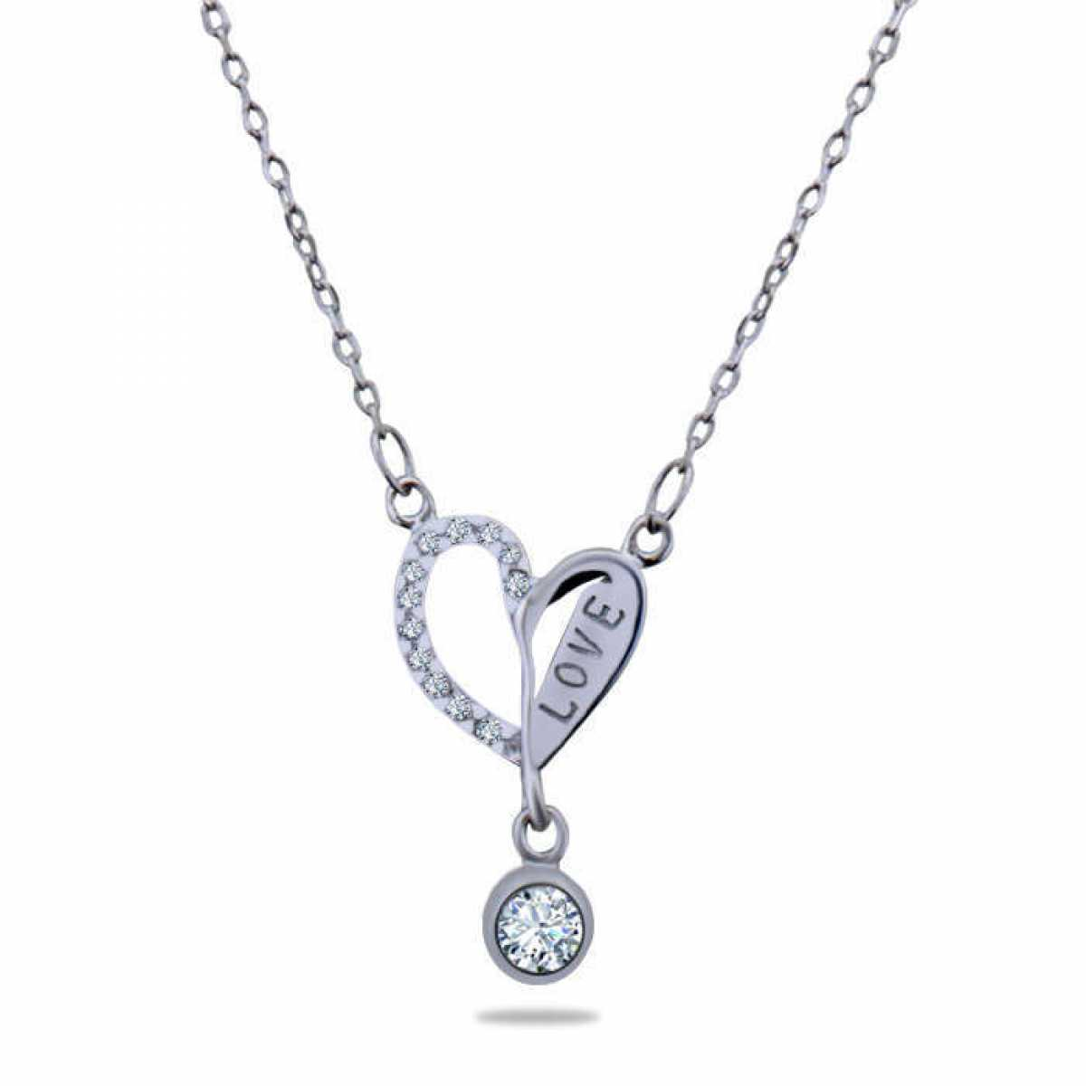 Love Heart Diamond Chain