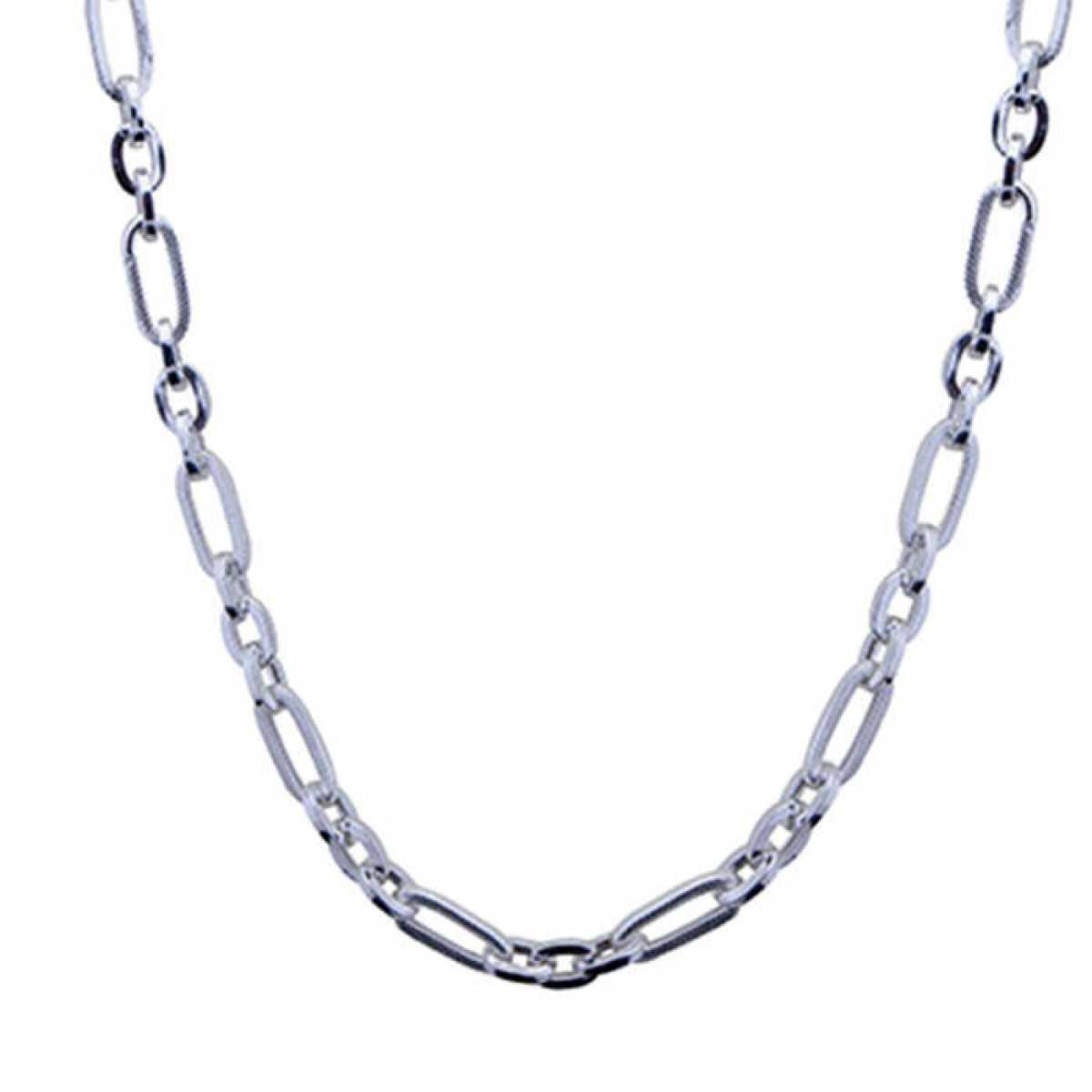 Heavy Look Silver Chain for Men